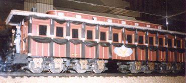 Abraham Lincoln Model Funeral Train