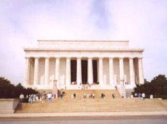 The Abraham Lincoln Memorial In Washington D C